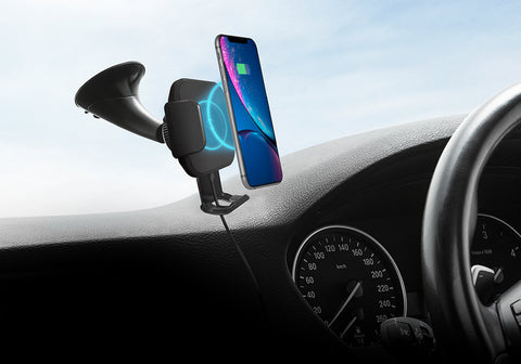 Wireless 10W Smartphone Car Charger and Mount