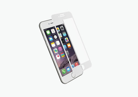 RealCurve 9H Tempered Glass Screen Protector for iPhone 7 - White