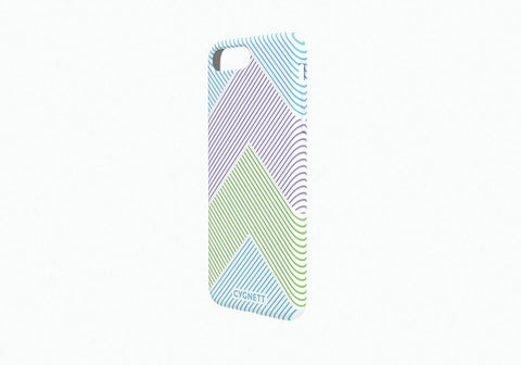 iPhone 8 Plus & 7 Plus Chevron Stripe Case in White - Cygnett (AU)