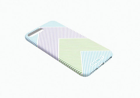 iPhone 8 & 7 Chevron Stripe Case in White - Cygnett (AU)