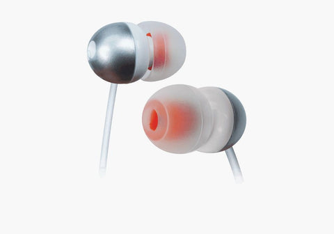 In-Ear Headphones in Silver