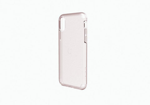 iPhone X Slimline Protective Case in Rose Gold