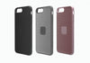iPhone 7 Slim Case with Carbon Fibre in Silver