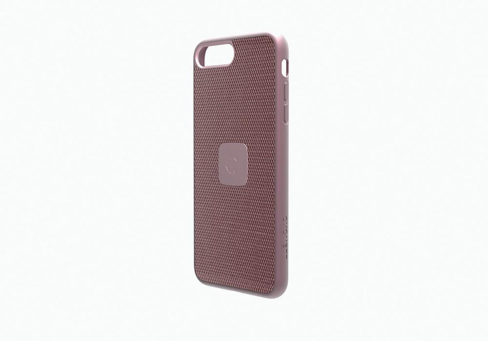 iPhone 7 Slim Case with Carbon Fibre in Rose Gold