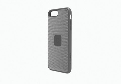 iPhone 8 Plus Slim Case with Carbon Fibre in Silver