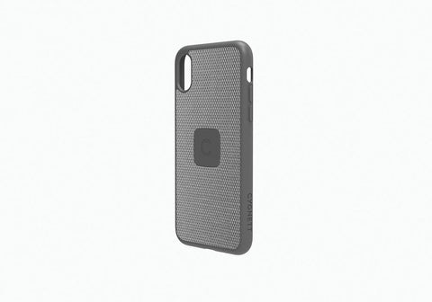 iPhone Xs & X Slim Case with Carbon Fibre in Silver - Cygnett (AU)