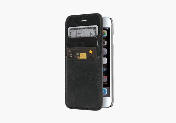 UrbanWallet Flip Case for iPhone 6s & 6 - Black
