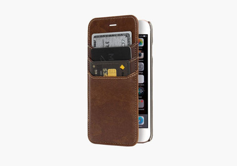 UrbanWallet Flip Case for iPhone 6s & 6 - Brown