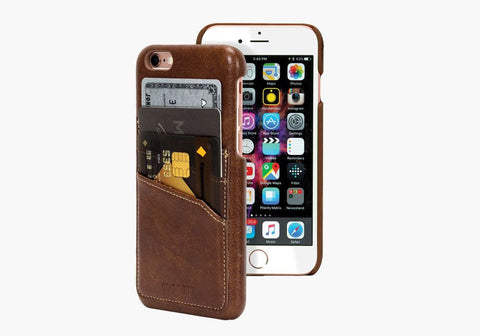 UrbanWallet Slim Case for iPhone 6s & 6 - Brown
