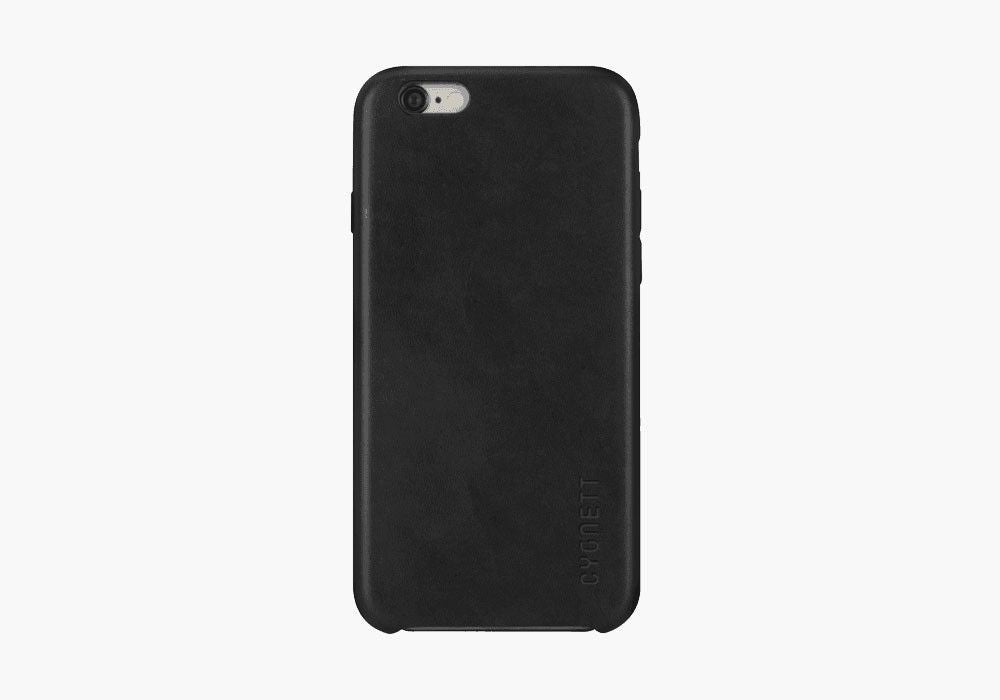 iPhone 6 & 6s Case in Black Leather