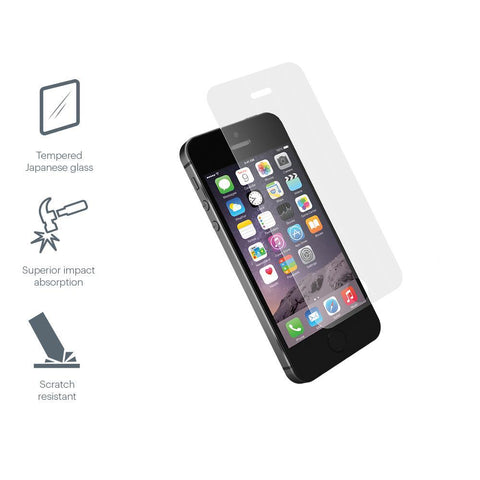Tempered Glass Screen Protector for iPhone SE, 5s & 5 - Cygnett (AU)