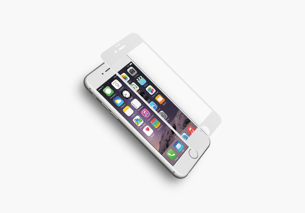 Tempered Glass Screen Protector for iPhone 6 & 6s in White
