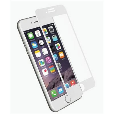 Tempered Glass Screen Protector for iPhone 8 Plus & 7 Plus in White - Cygnett (AU)