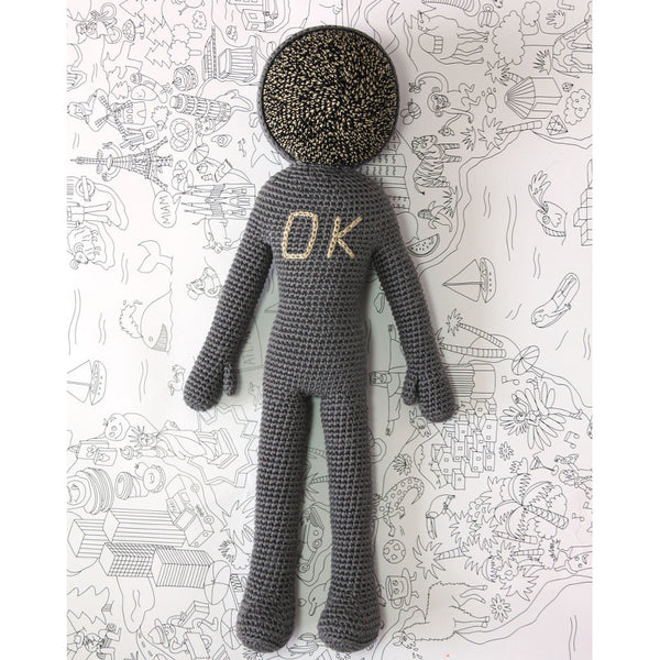 OK - The Astronaut - Small LEGGYBUDDY - www.fourmonkeys.com