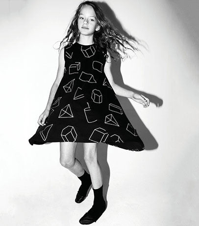360 Geometric Tank Dress NUNUNU - www.fourmonkeys.com