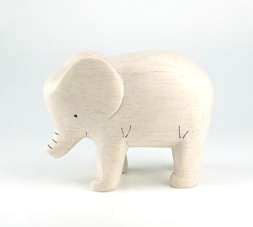 PolePole Elephant Wooden Animal