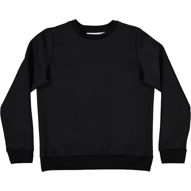 Recovery Sweater Waffle Black