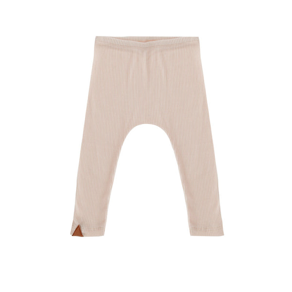 Jersey Leggings - Cream Pink