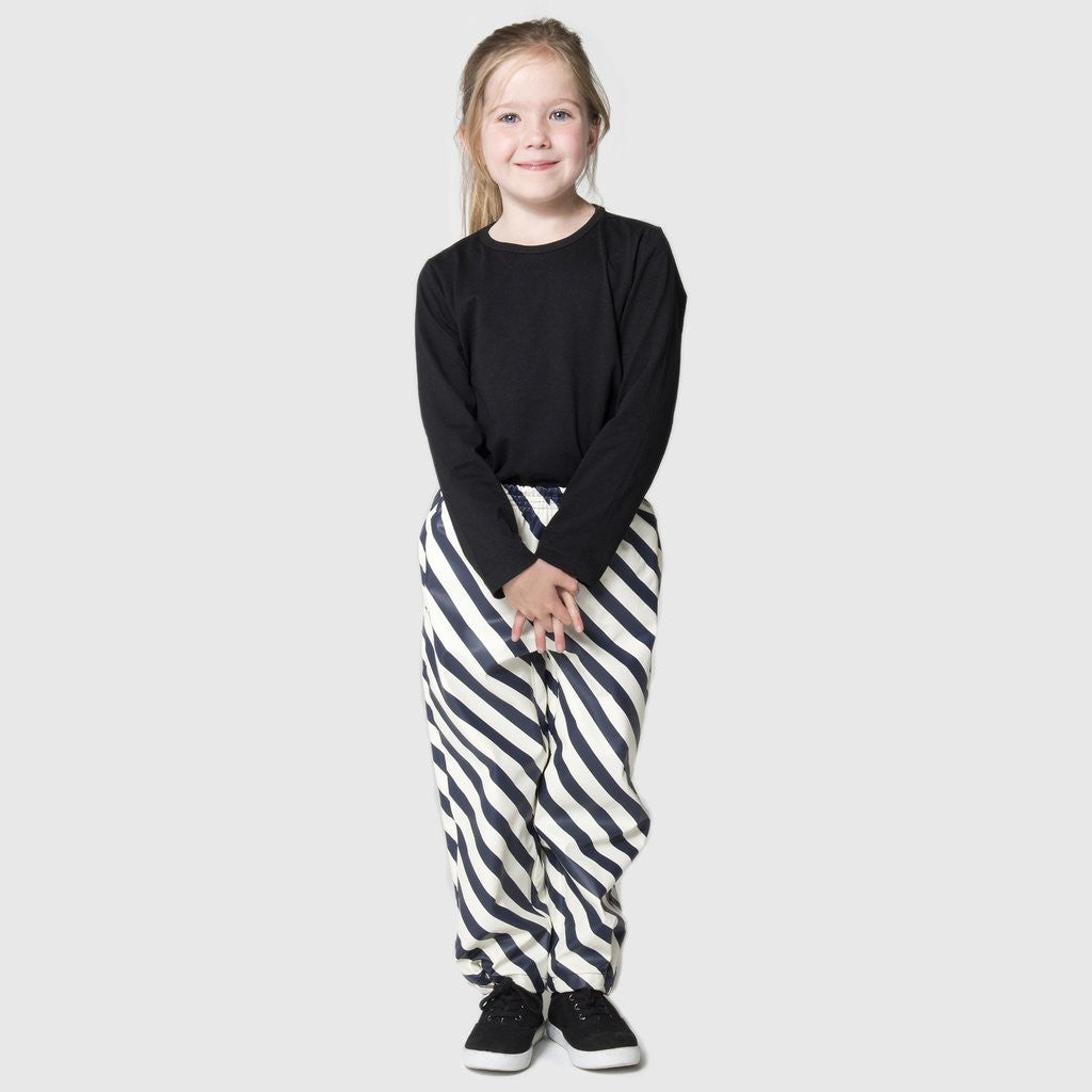 Hidden Dragon Unisex Rainpants Striped