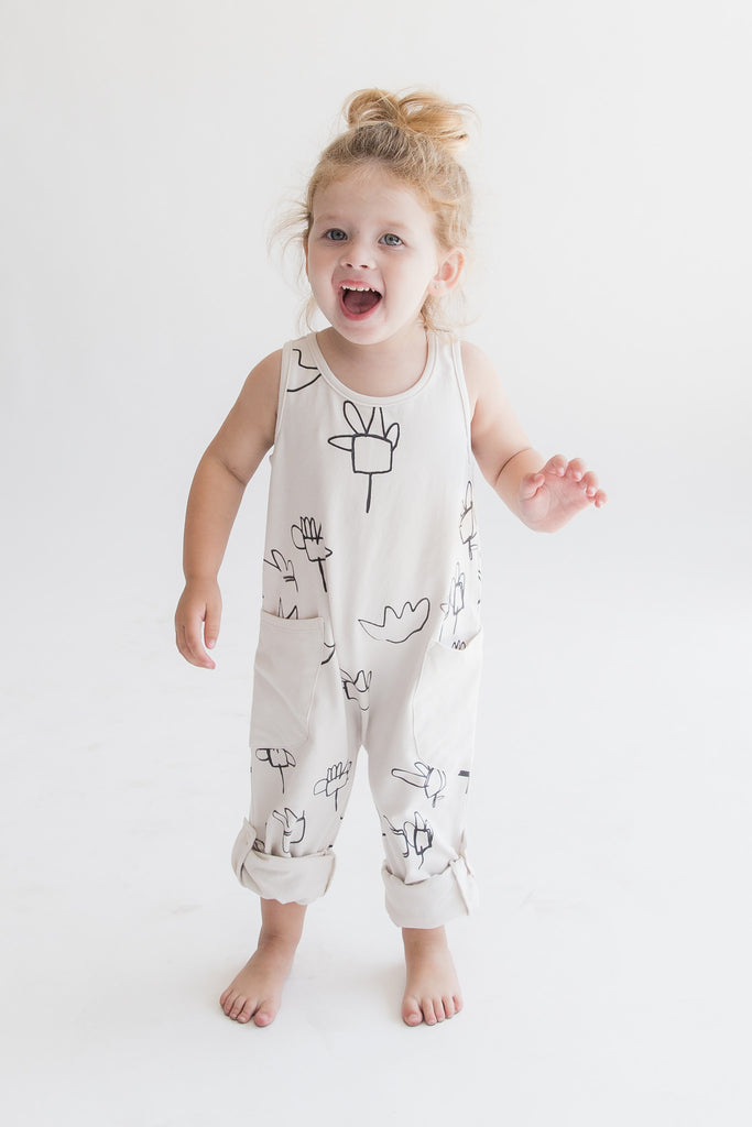'Fields' Tank Romper