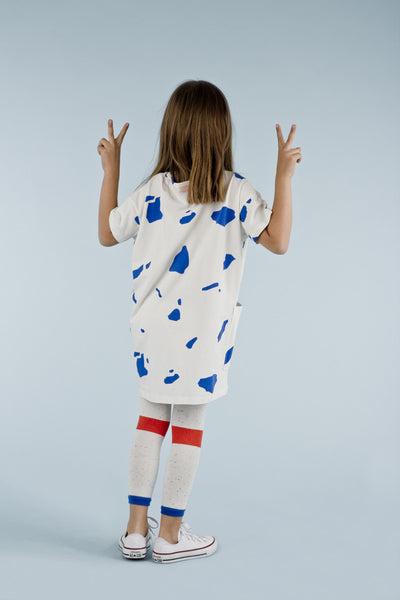 Cut Outs SS Oversized Dress