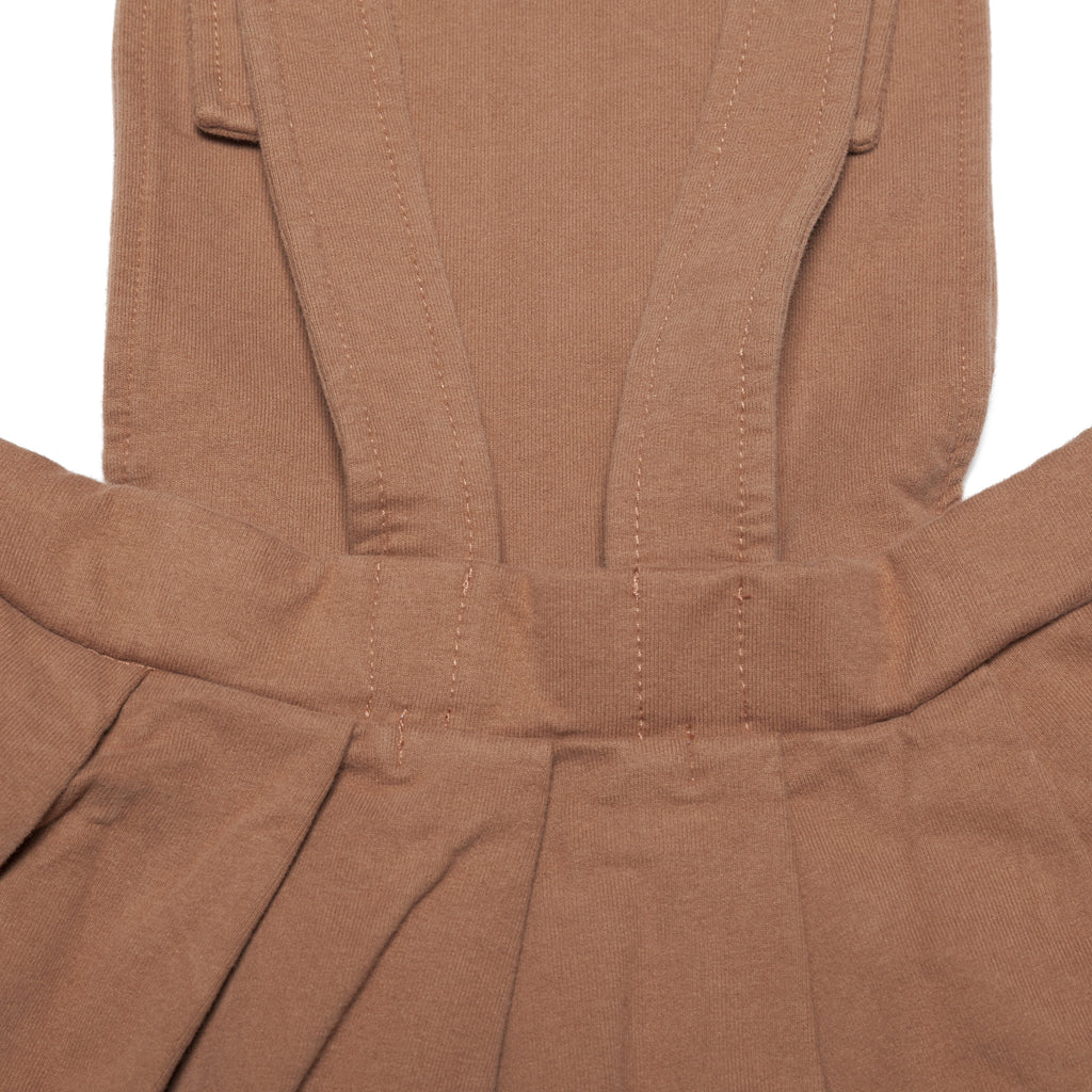 Pinafore Dress - Caramel