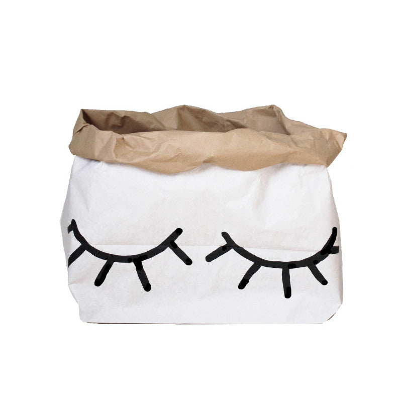 Paper Bag Small Eye TELLKIDDO - www.fourmonkeys.com