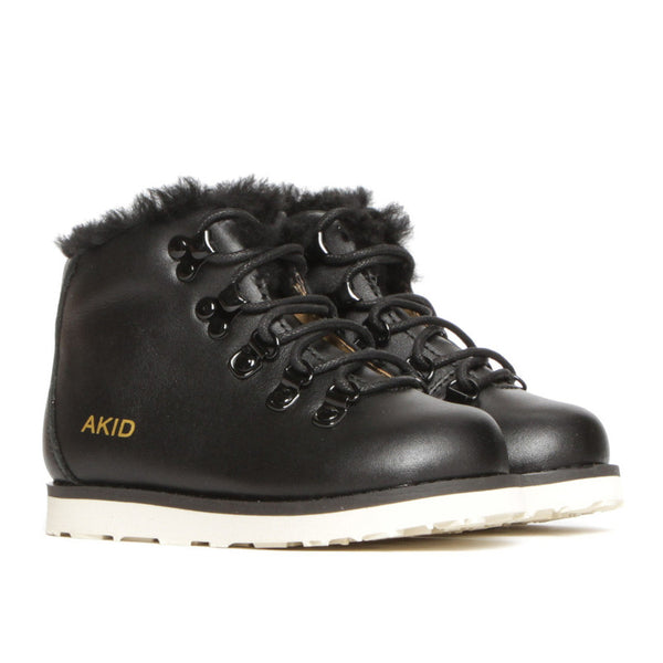Jasper Leather lace-up Boot AKID - www.fourmonkeys.com