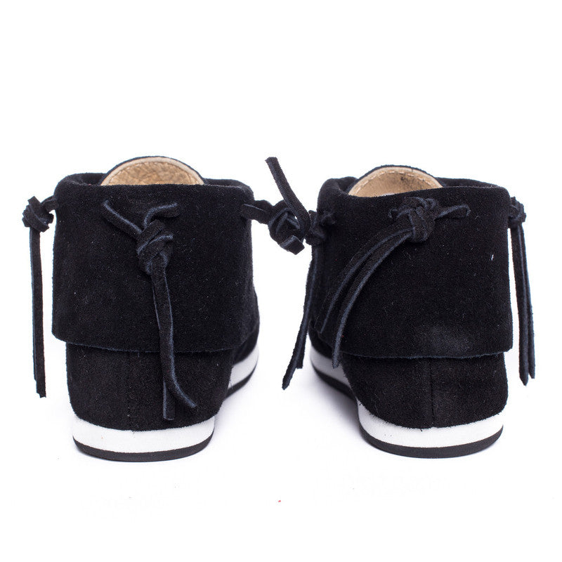Stone Classic Leather Moccasins