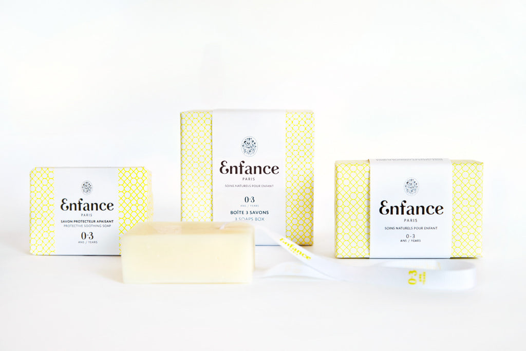 Protective Soothing Soap 0-3 Wrapped ENFANCE - www.fourmonkeys.com