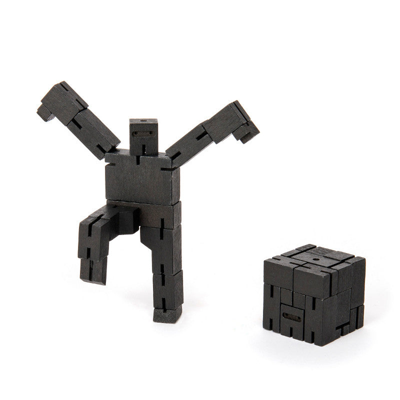 Small Cubebot Robot Black