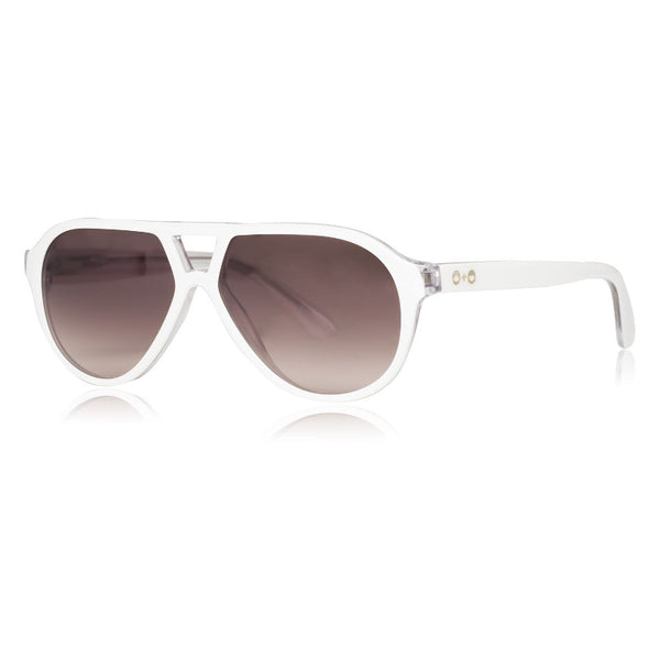 Rocky Sunglasses White SONS+DAUGHTERS - www.fourmonkeys.com