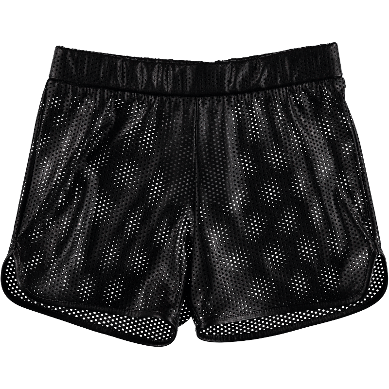 Mineral 01 Black Leather Shorts CAROLINE BOSMANS - www.fourmonkeys.com