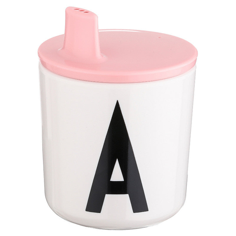 Drink Lid in Pink DESIGN LETTERS - www.fourmonkeys.com