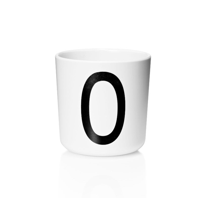 Melamine Cup with Letter