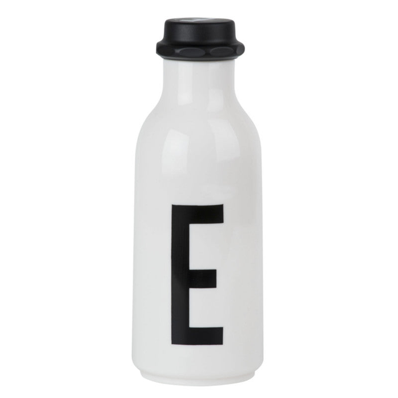 Drinking Bottle DESIGN LETTERS - www.fourmonkeys.com