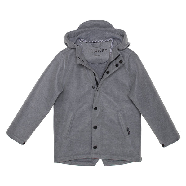 Elephant Man Rain Jacket - Grey Heather