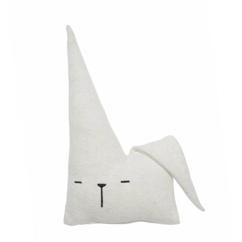 Travel Bunny Friend Organic Cotton Cushion