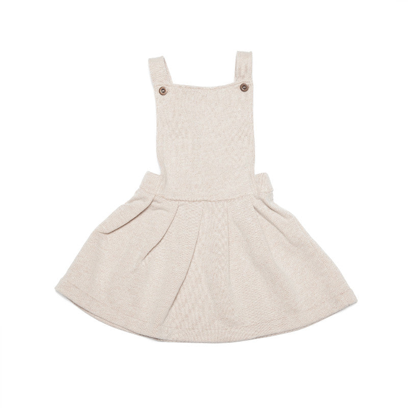 Pinafore Dress - Lurex