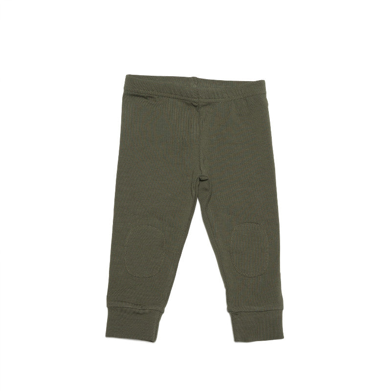 Jersey Leggings - Forest Green