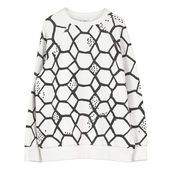 Raglan Jumper - Vanilla Love Net