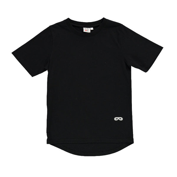 Short Sleeve Fin T Shirt - Inky Black