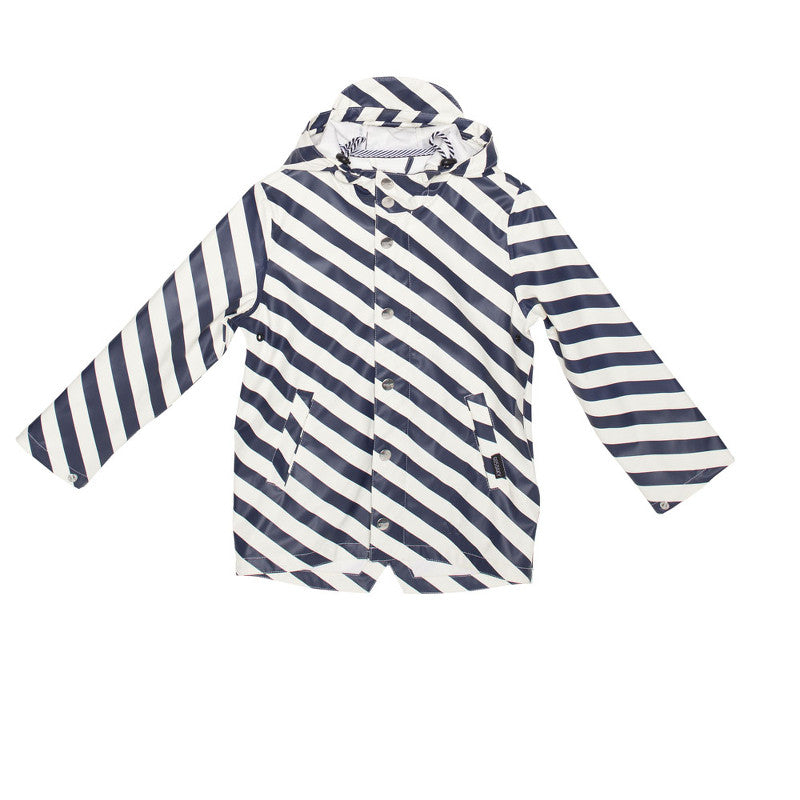 Elephant Man Rain Jacket Striped