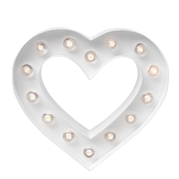 Marquee Love Heart