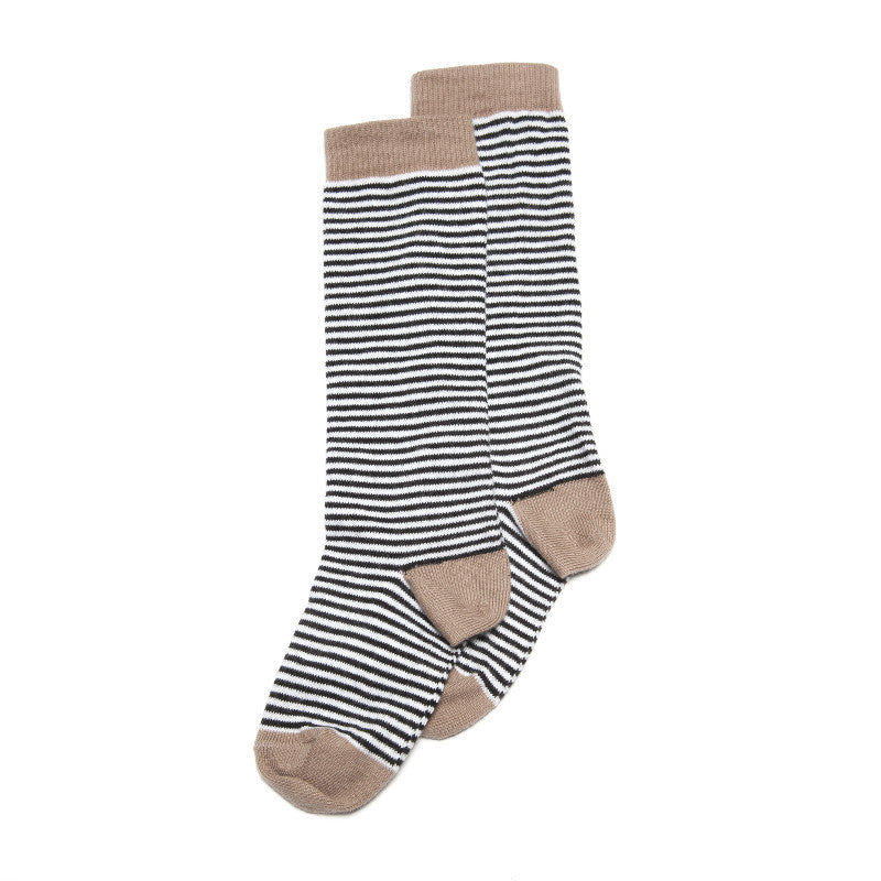 Socks Stripes/Camel