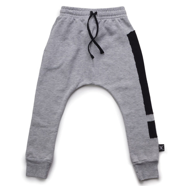 Exclamation Baggy Pants Grey