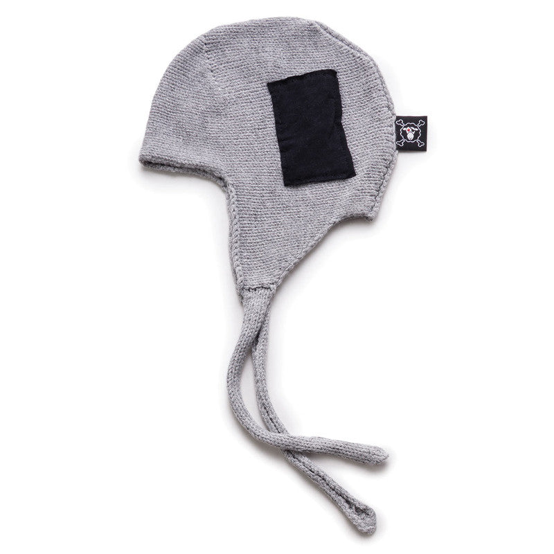 Knitted Patch Hat