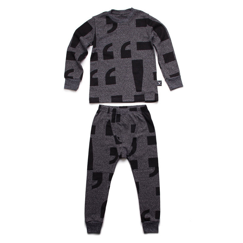 Punctuation Loungewear
