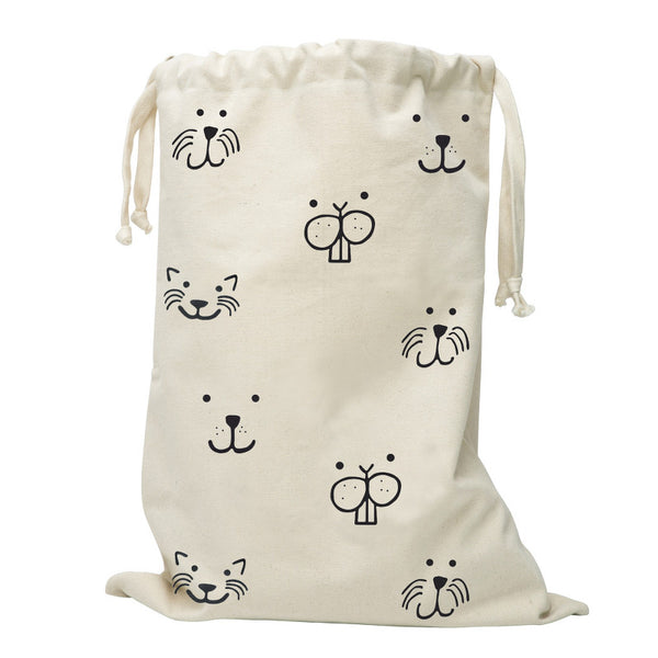 Canvas Bag Animal Face