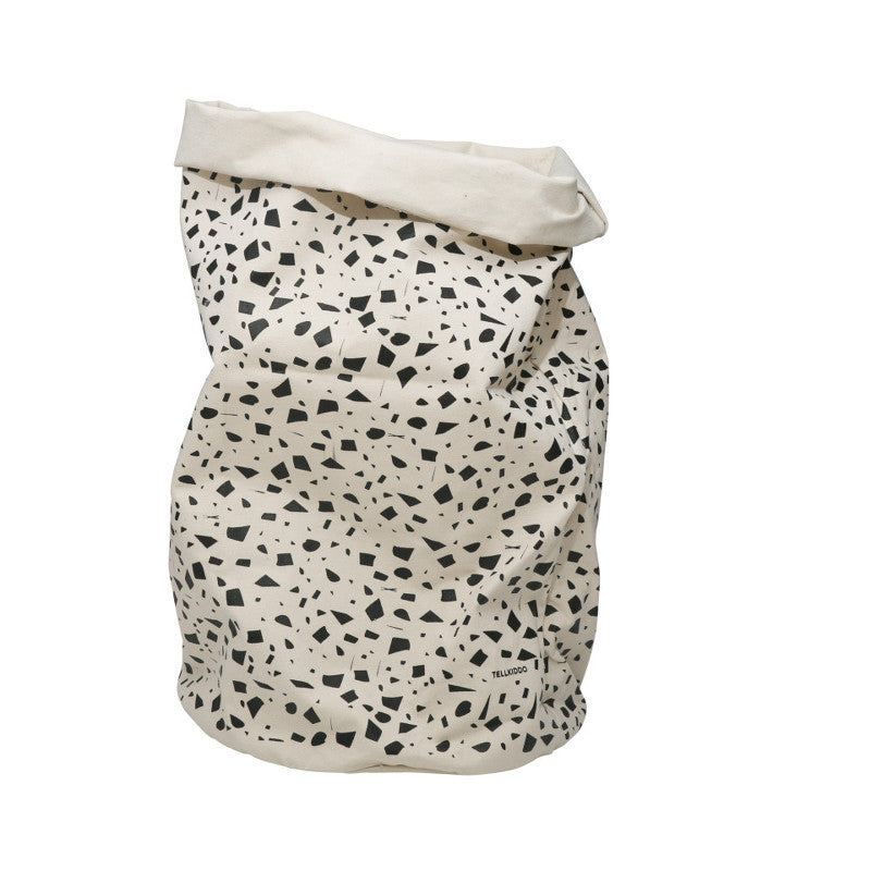Round Canvas Bag Dots